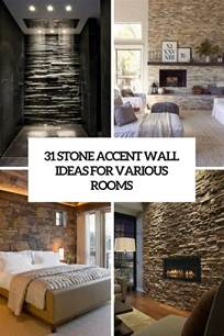 Rooms To Go Kitchen Furniture 31 stone accent wall ideas for various rooms digsdigs