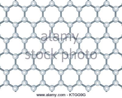 scientific hexagonal chemistry pattern structure molecule