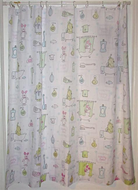winnie the pooh shower curtain disney winnie the pooh bathroom shower curtain kids bath
