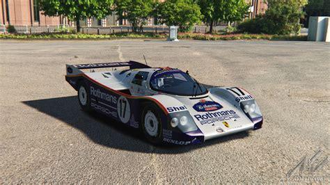 Porsche 962c by Porsche 962c Porsche Car Detail Assetto Corsa Database