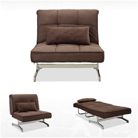 bed sleeper chairs tyson sleeper chair bed brown by lifestyle