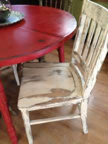 Country Kitchen Table And Chairs by Distressed Country Kitchen Table The Chair Is A