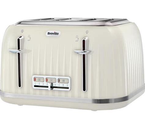 Brevelle Toaster Buy Breville Impressions Vtt702 4 Slice Toaster Vanilla