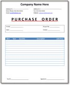 purchase order forms 9 download sample form templates