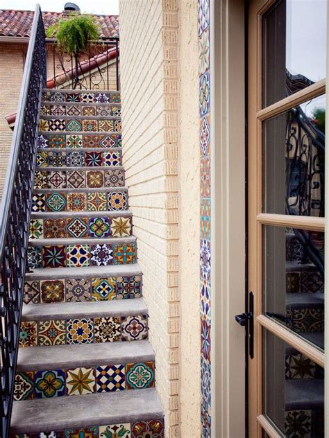 Tiles For Stairs Design Amazing Various Outdoor Patio Floor Tiles Designs With Contemporary Kitchen Mediterranean