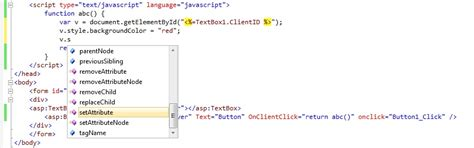 javascript on layout change asp net how to change background color of textbox by
