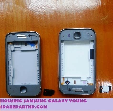 ganti lcd samsung galaxy young