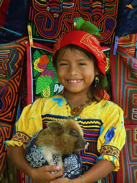 imagenes de mujeres kunas indgena guna fotos de viajes una nia indgena de la etnia