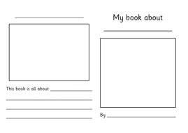 Make Your Own Non Fiction Country Book By Choralsongster Teaching Resources Tes Make Your Own Alphabet Book Template