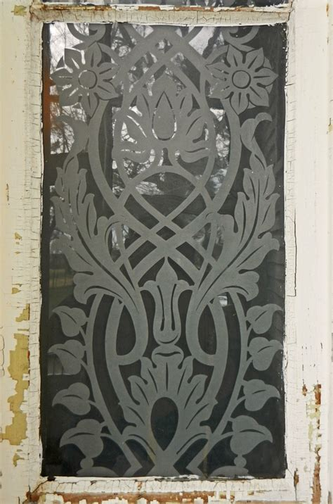 Glass Door Etching Stencils When I Learn To Etch This I Definitely Will Be Etching A Door Like This Inspirations For