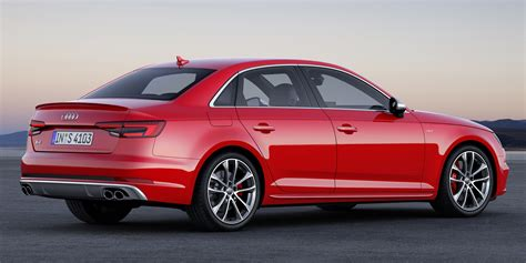 Audi S4 Ps by Frankfurt 2015 B9 Audi S4 Revealed Packing 354 Ps Image