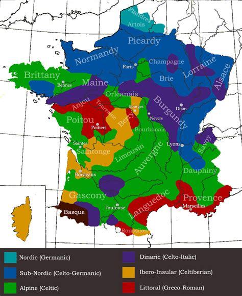 Genetic make up of France