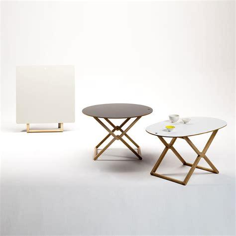 Folding Coffee Table Uk Treee Oval Folding Coffee Table Beech Wood By Caon Arreda Lovethesign