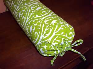 bed roll pillow long bed pillow neck roll pillow lime green and by
