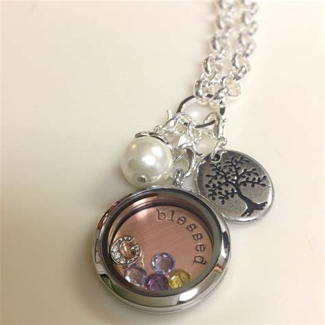 Origami Living Lockets - origami owl blessed locket origami owl 174 living lockets
