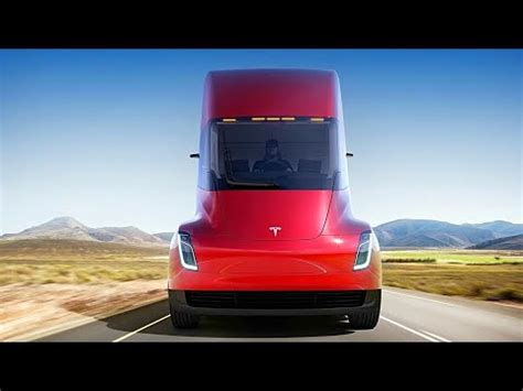 2020 Tesla Semi by Tesla Roadster 2020 And Tesla Semi Unveil 620 Mile Semi