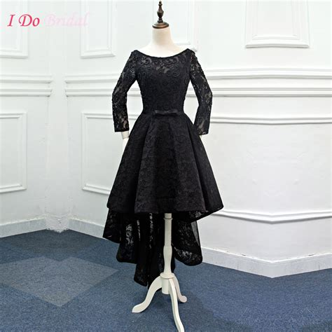 short on top but ling in back black hair cuts elegant african black evening dresses short front long