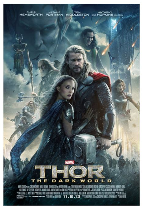 film thor ada berapa thor the dark world movie poster release by disney marvel