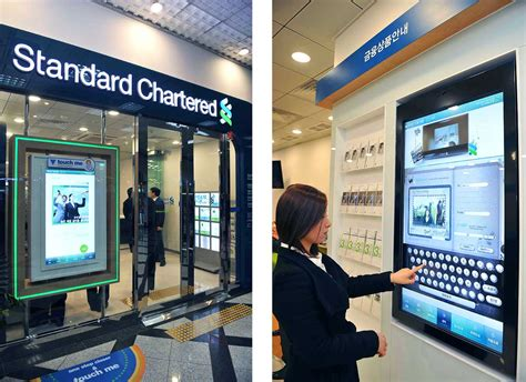 standard chartered bank rfid chips spell end to branch lines for high value customers