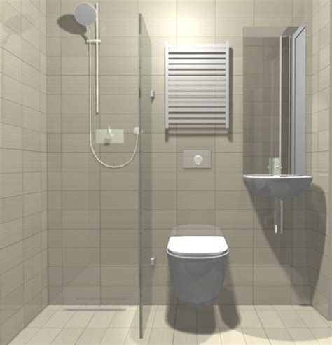 Interior Design Ideas For Small Bathrooms by A Small But Beautifully Formed Wet Room The Use Of Mirror