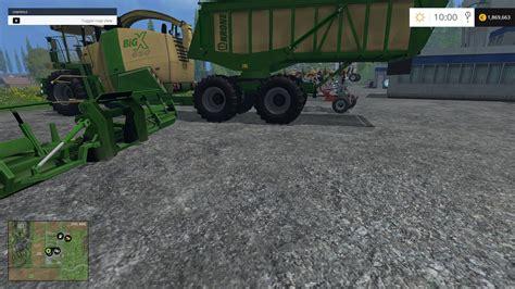 Big Ls by Krone Big X 650 Cargo 4 3b For Ls 15 Farming Simulator