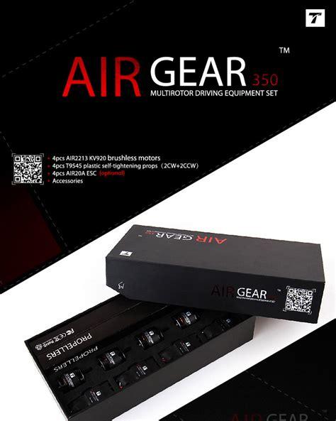 air gear review t motor air gear 350 electrics package v1 motor esc prop