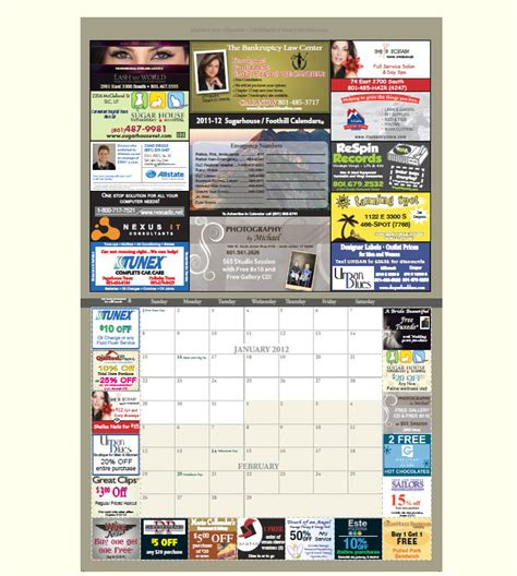 Calendar Coupons Coupon Calendar