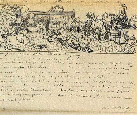 vincent van gogh the letter sketches