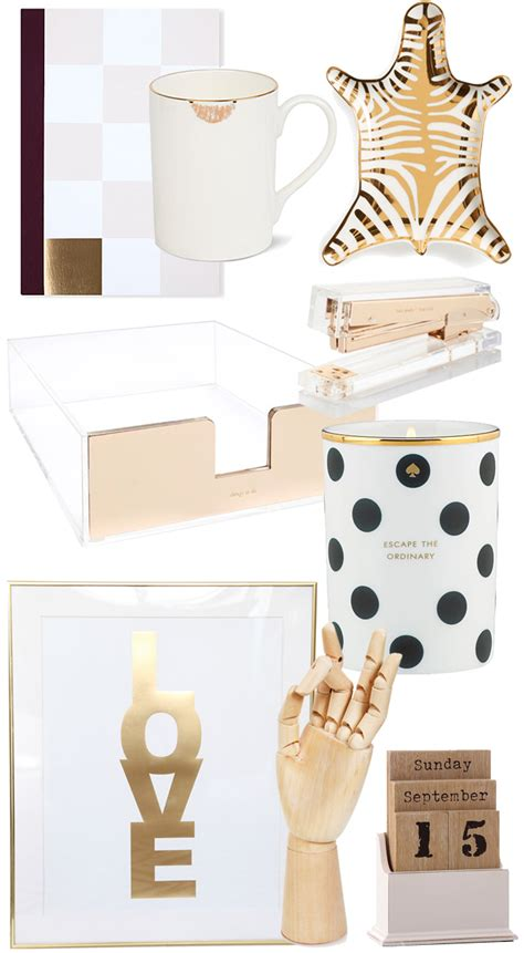 Pretty Desk Accessories New Year New Desk Stylescoop South Lifestyle Fashion