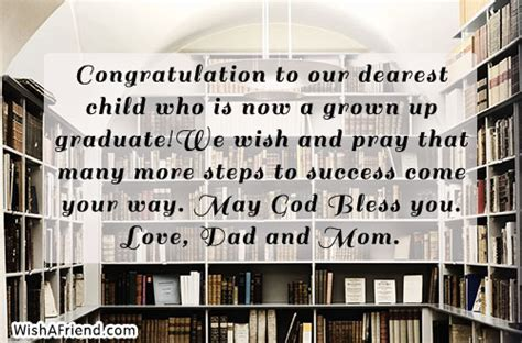 Congratulation to our dearest child who, Graduation