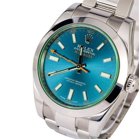 Rolex Milgauss Blue rolex milgauss 116400gv green blue