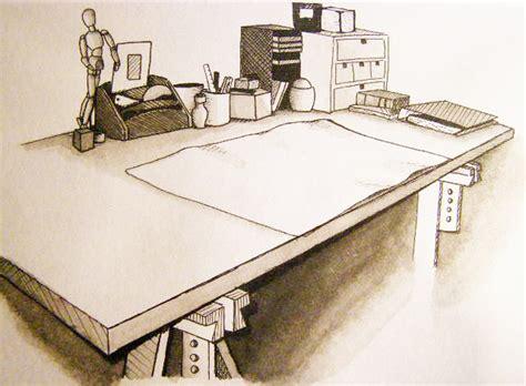 desk sketch by anamorenita on deviantart