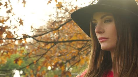 preteen luiza model sad preteen girl sitting in the park stock footage video