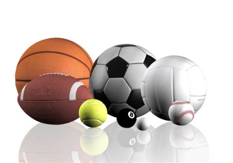 all sports balls pictures to recreation services