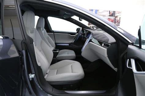 Tesla Grey Interior 2015 Tesla Model S P85d Tech Package Autopilot Premium