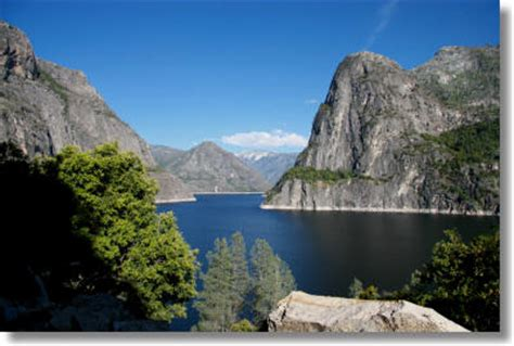 Side Elevation yosemite hikes hetch hetchy and big oak flat
