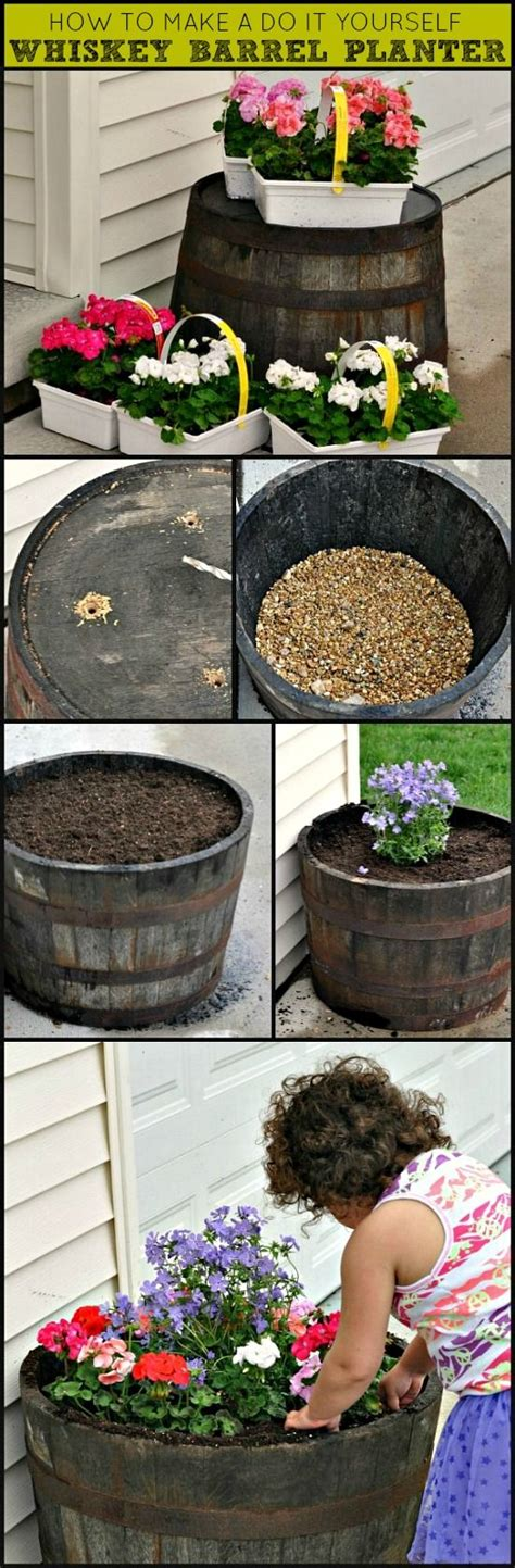 lowes barrel planter this barrel planter flipped as an outdoor side table lowes has these