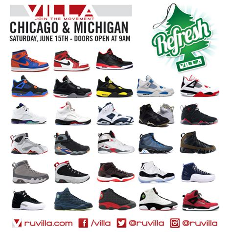 sneaker villa jordans refresh air retro restock at villa this saturday sbd