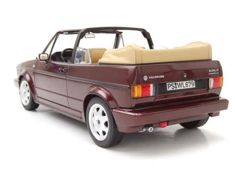 Golf Modellauto by Vw Golf 1 Cabrio Classic Line 1992 Rot Metallic Modellauto