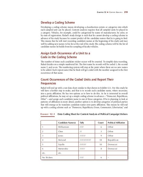 content analysis coding sheet template the relevance of content analysis to the media