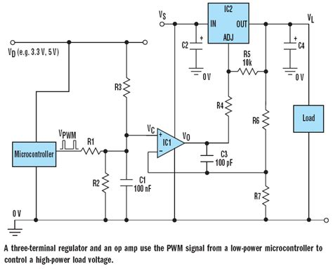 how circuits work microcontroller how does this power supply circuit work