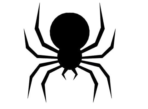 spider template 7 best images of printable templates spider