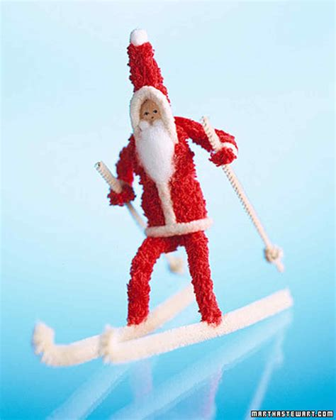 pipe cleaner santa claus martha stewart
