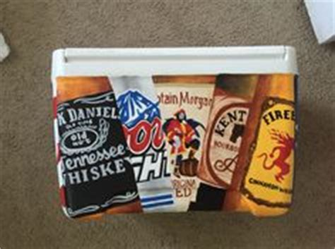 who owns coors light painted beer cans on the of a frat cooler drinks
