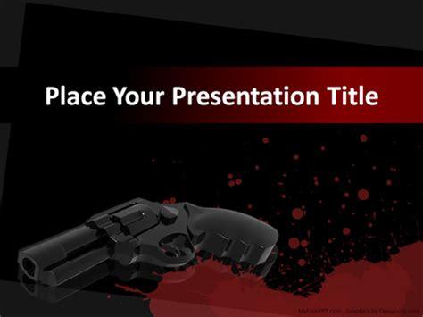 free murder powerpoint templates myfreeppt com