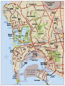 Map San Diego by Maps Of San Diego