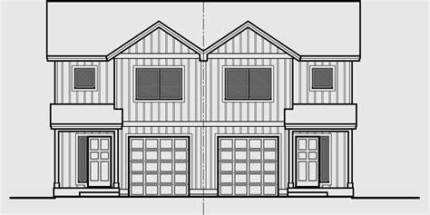 duplex row house floor plans narrow lot duplex house plans narrow and zero lot line