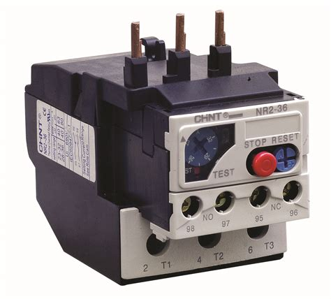 Thermal Relay Chint Nxr 36 28 36a chint switchgear zentech automation chint switchgears in delhi