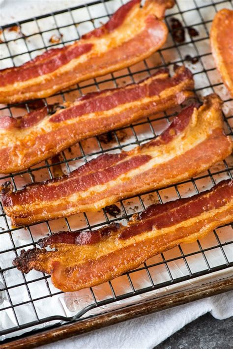 baked bacon how to make perfect bacon in the oven