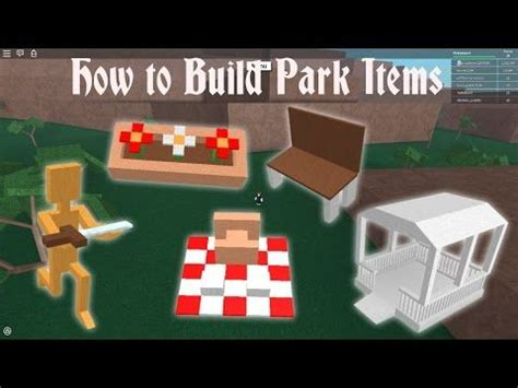 lumber tycoon    build park items final